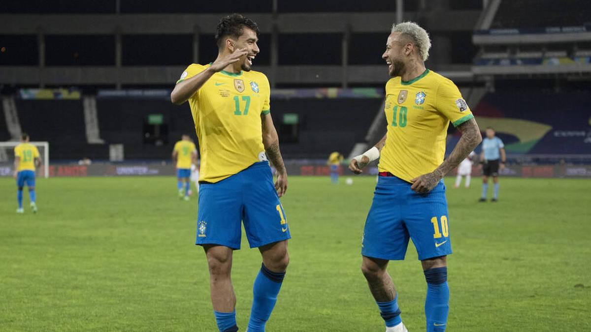 Brasilien um Superstar Neymar steht im Finale der Copa América