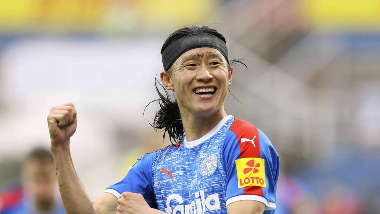 Jae-Sung Lee absolvierte 93 Spiele in der 2. Bundesliga