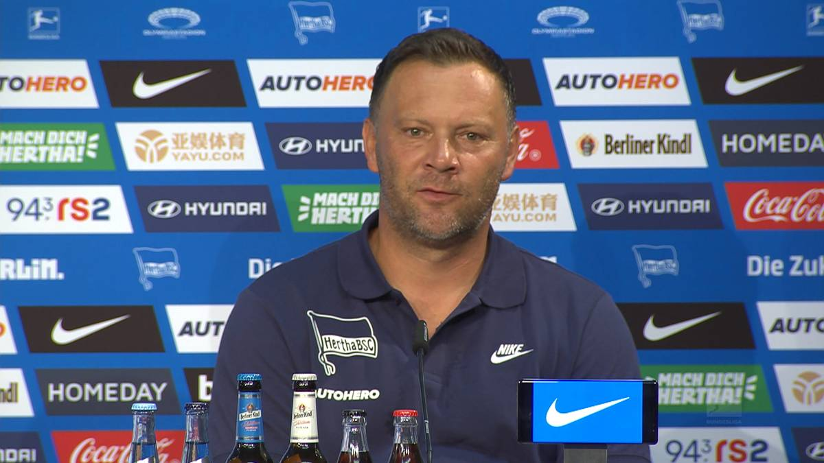 Matheus Cunha stand bei Herthas Niederlage gegen den VfL Wolfsburg nicht im Kader und das hatte Gründe: Trainer Pal Dardai ist mit der Einstellung des Brasilianers nicht zufrieden.