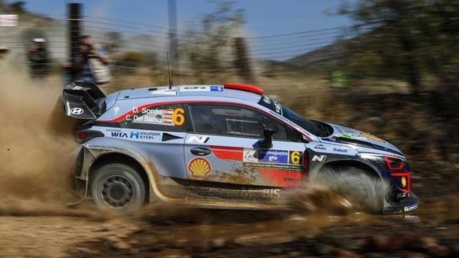 Dani Sordo stürmte bei der Rallye Mexiko am Freitagvormittag nach vorne