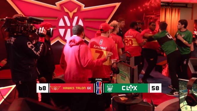 Strafe für Rauferei in NBA2K League