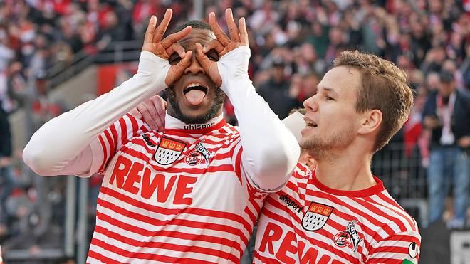 Auch bei seinem Heim-Debüt traf Rückkehrer Anthony Modeste für die Kölner