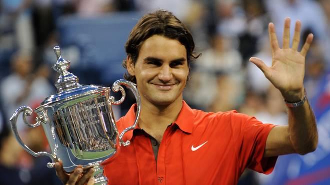 Auch bei den US Open hat Roger Federer seine Spuren hinterlassen und gehört mit fünf Erfolgen zu den Rekordsiegern