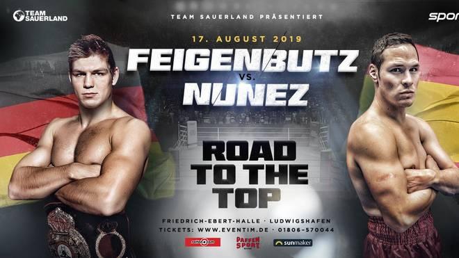 Boxen, Gala in Ludwigshafen: Feigenbutz gegen Nunez live im TV , Vincent Feigenbutz (links)  trifft am 17. August auf den Spanier Cesar Nunez