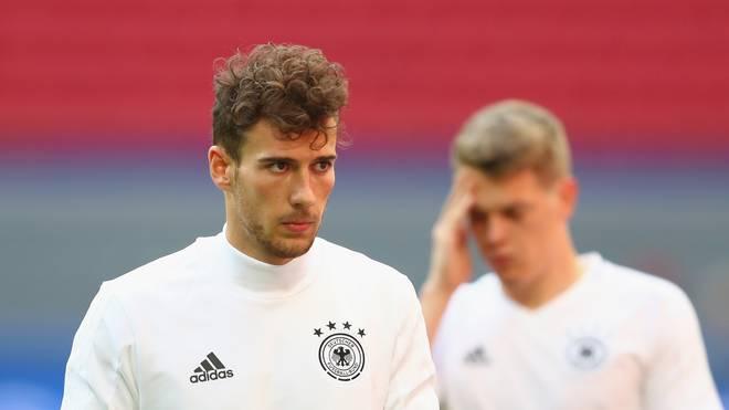 Leon Goretzka fehlte am Dienstag im Training der Nationalmannschaft