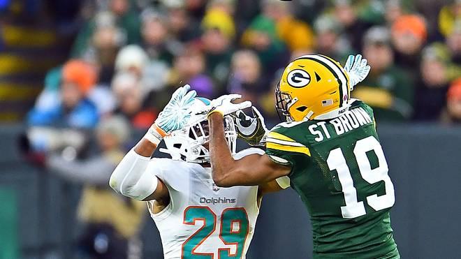 best website d763b c833b NFL: Equanimeous St. Brown mit bösem Hit bei Packers vs ...