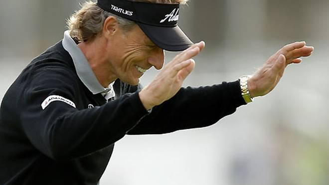 Bernhard Langer ist Spieler des Jahres auf der Champions Tour