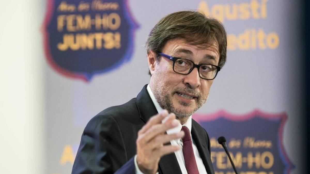 Agustí Benedito will das Stadion umbenennen