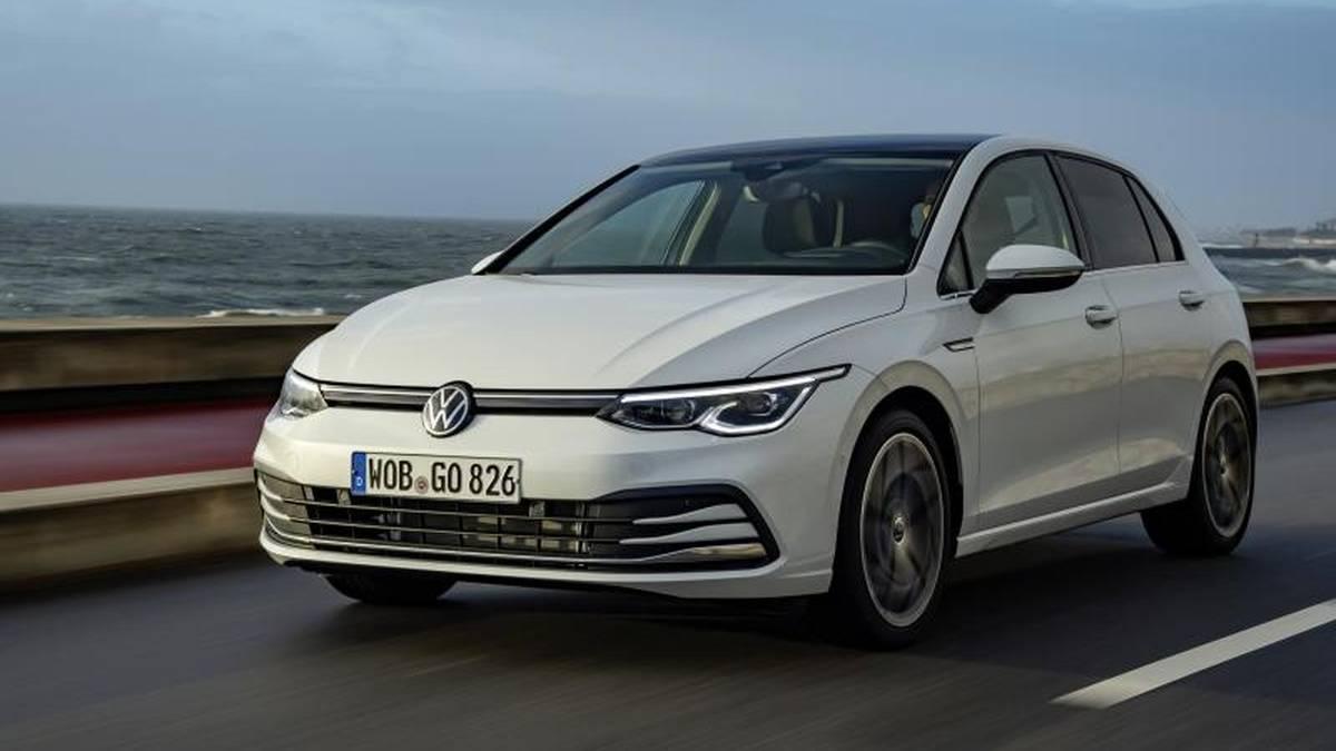 Der neue Golf zeigt sportlichen Ambitionen: Mit dem 110 kW/150 PS-Benziner erreicht er ein Spitzentempo von 224 km/h