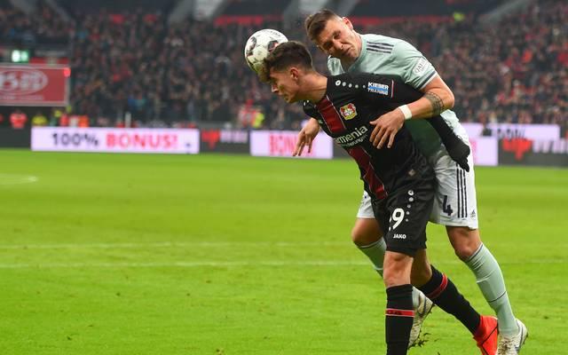 Kai Havertz von Bayer Leverkusen hat sich beim Sieg gegen den FC Bayern verletzt