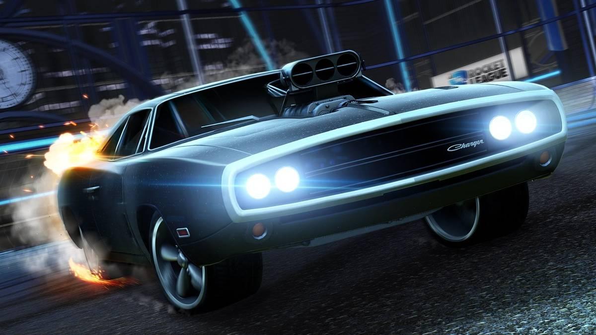 In Rocket League kann nun auch mit Dominic Torettos 1970 Dodge Charger auf Torejagd gegangen werden