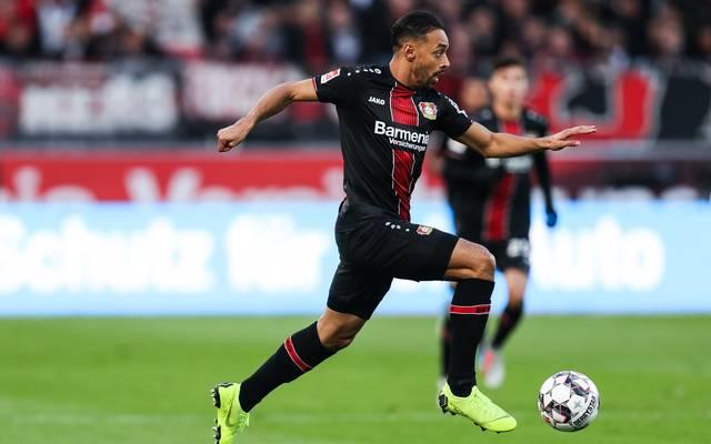 Karim Bellarabi will mit Bayer Leverkusen den Gruppensieg in der Europa League