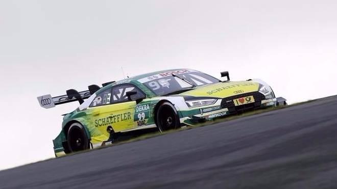 Mike Rockenfeller setzt die erste Bestzeit beim DTM-Finale in Hockenheim