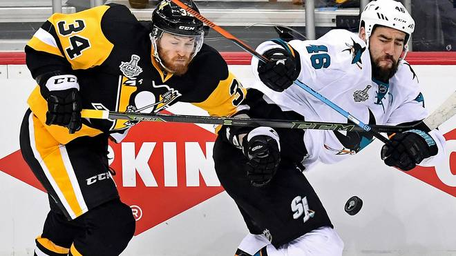 Tom Kühnhackl will mit den Penguins in den Stanley Cup Finals den zweiten Matchball verwandeln