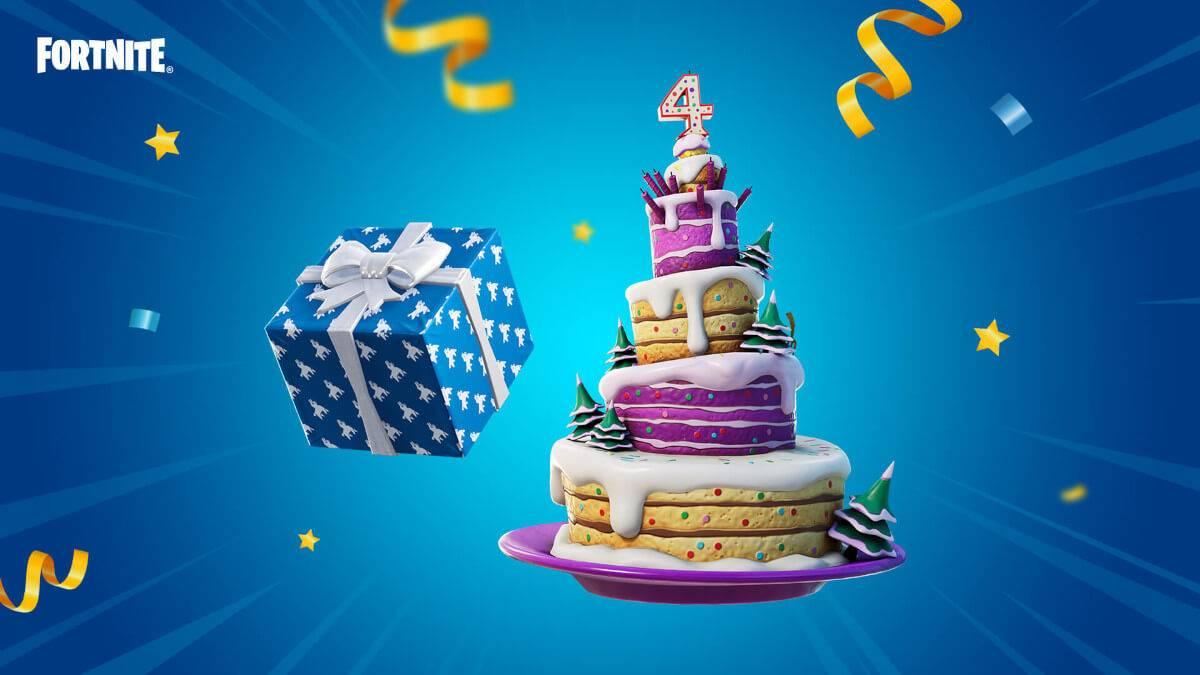 Happy Birthday Fortnite!