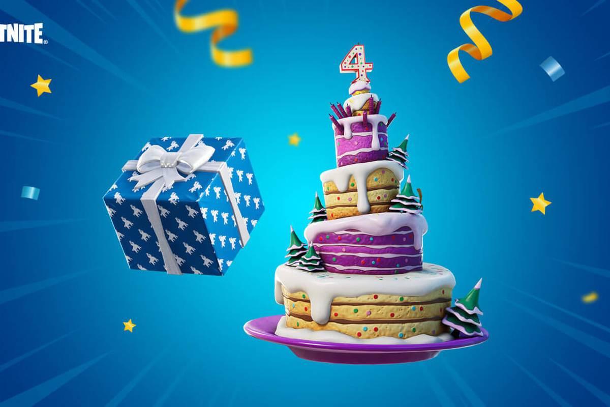 Wie jedes Jahr feiert Fortnite den Geburtstag auch im Spiel. So gibt es dieses Mal zum 4-jährigen Jubiläum neue Items und eine Abstimmung, an der jeder teilnehmen kann.