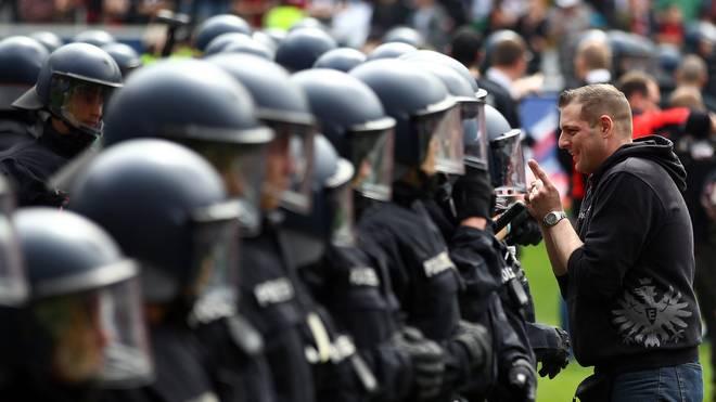 Die Polizei stuft das Spiel Frankfurt gegen Inter als Risikospiel ein