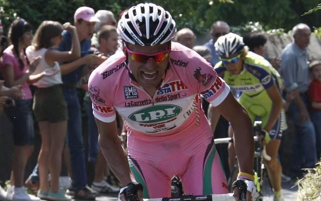 Der Italiener Danilo Di Luca gewann 2007 den Gori d'Italia