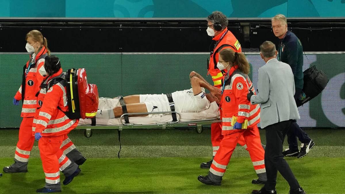 Leonardo Spinazzola verletzte sich bei der EM schwer