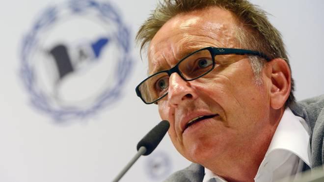 Norbert Meier ist seit Februar 2014 Trainer von Arminia Bielefeld