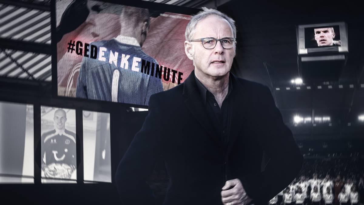 Reinhold Beckmann erinnert sich an Robert Enke