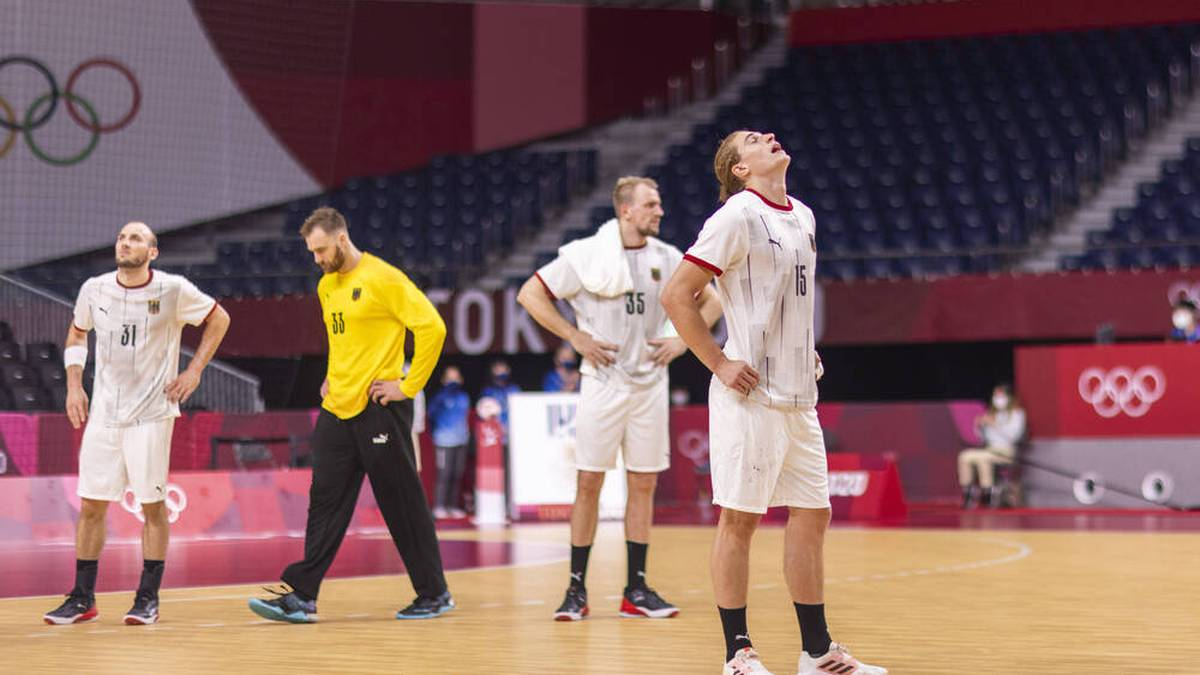 Die deutschen Handballer verpassen das Halbfinale der Olympischen Spiele in Tokio