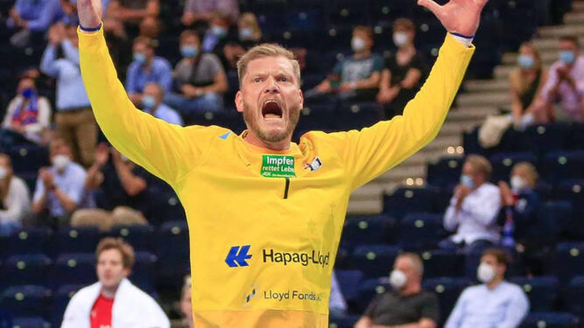 Johannes Bitter gewinnt mit Hamburg gegen die Rhein-Neckar Löwen