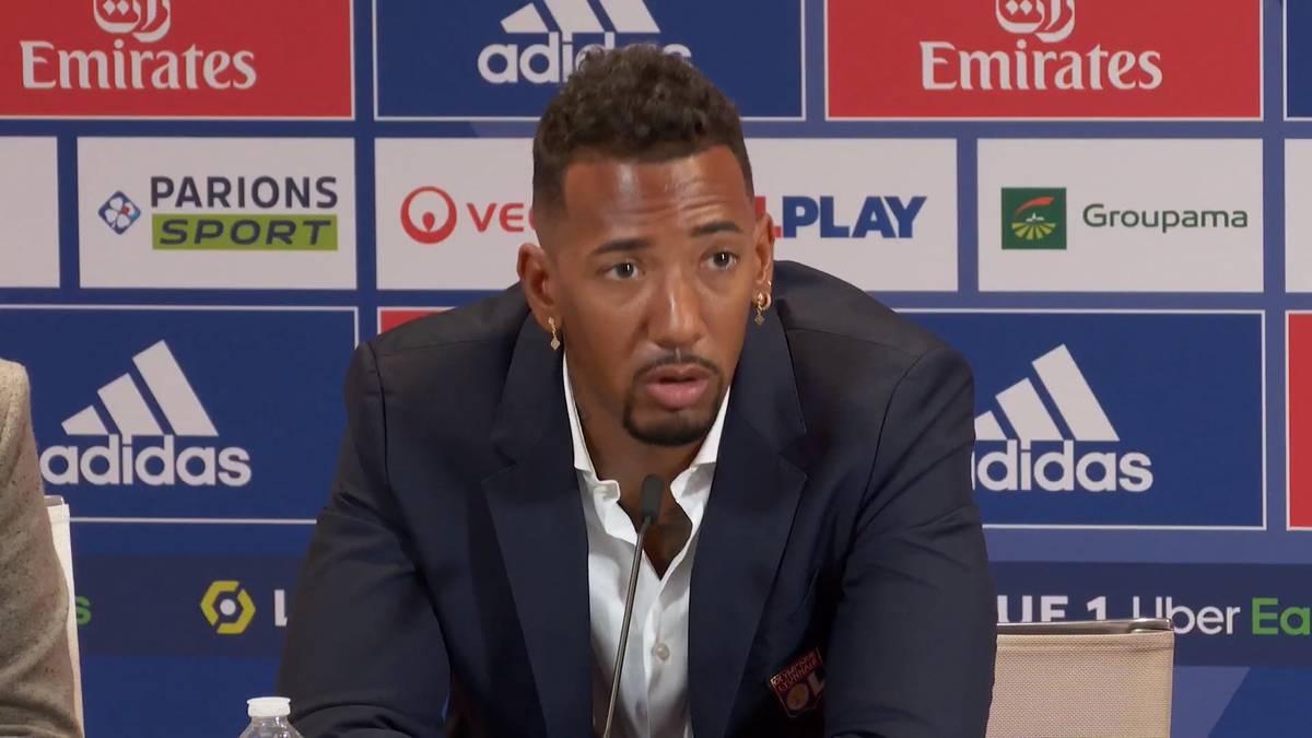 Jerome Boateng hat mit Olmypique Lyon einen neuen Verein gefunden. Der Weltmeister von  2014 erklärt, warum er in die Ligue 1 gekommen ist und wieso der Transfer von Lionel Messi zu PSG nicht ausschlaggebend war.