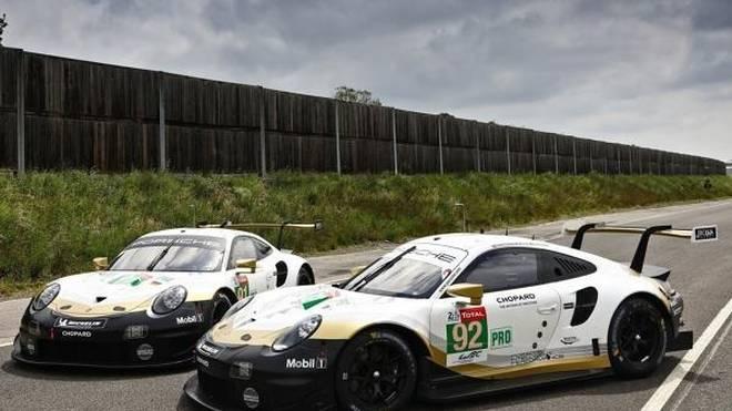 Porsche feiert den WEC-Titel in Le Mans mit einer Sonderlackierung