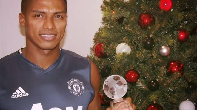 Antonio Valencia ist Spieler des Monats November bei ManUnited