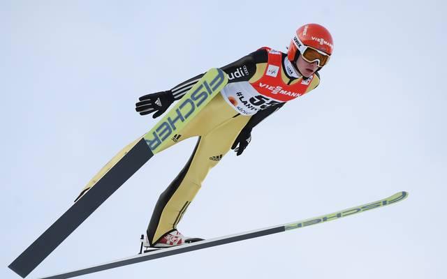 Richard Freitag war bester deutscher Springer in Kuusamo
