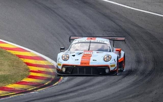 Der GPX-Porsche beendete den langen Donnerstag mit einer Bestzeit im Nachttraining