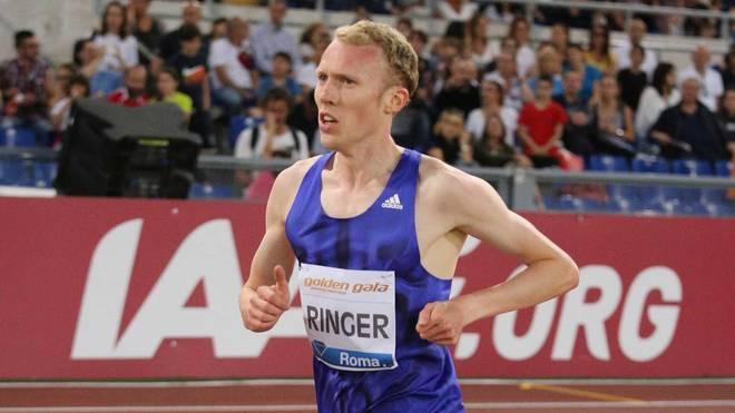 Richard Ringer lief 5000 Meter in 13:10,94 Minuten