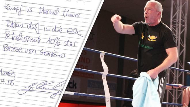 Graciano Rocchigiani liebäugelte mit einem Comeback im Ring