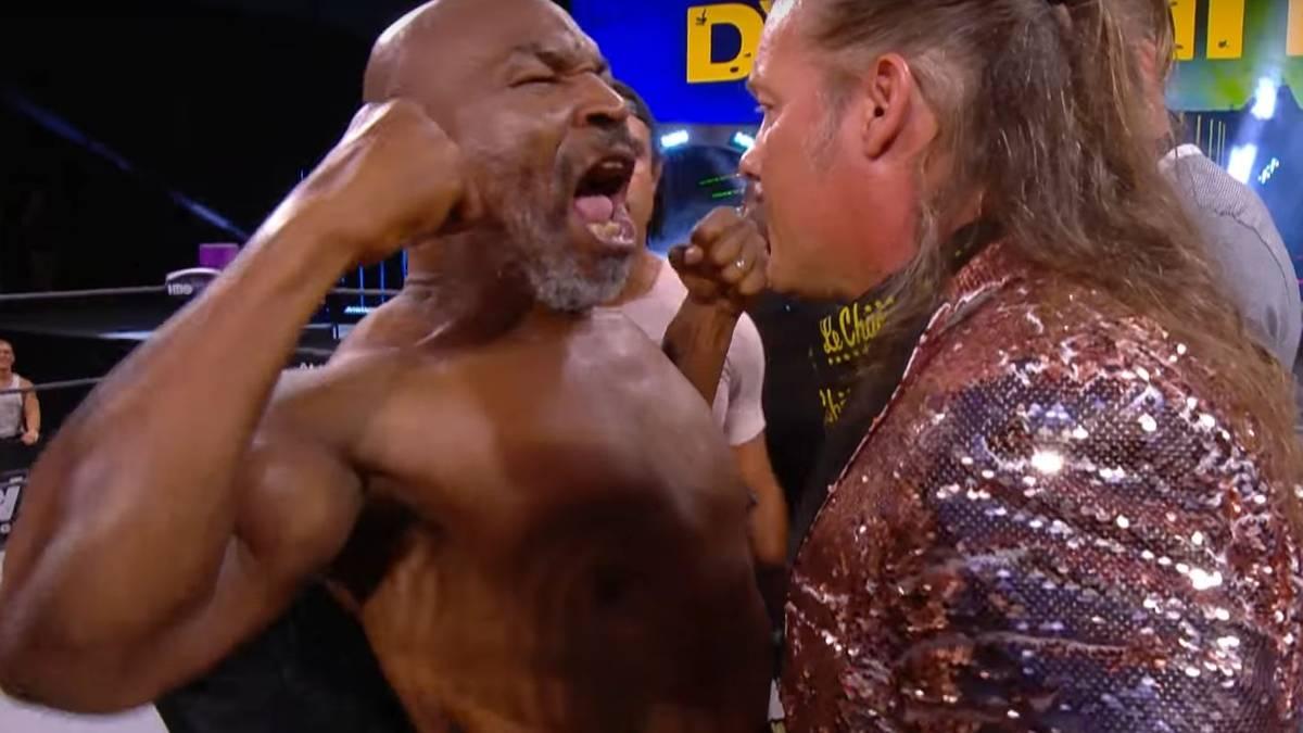 Mike Tyson und Chris Jericho ließen es bei AEW Dynamite krachen