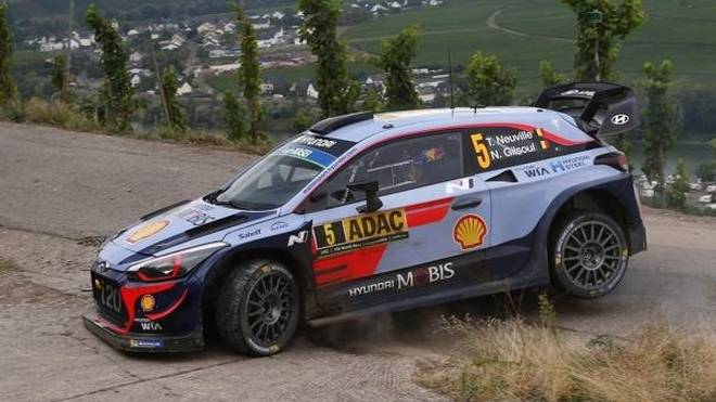 Am Freitag und Sonntag geht es bei der Rallye Deutschland in die Weiberge