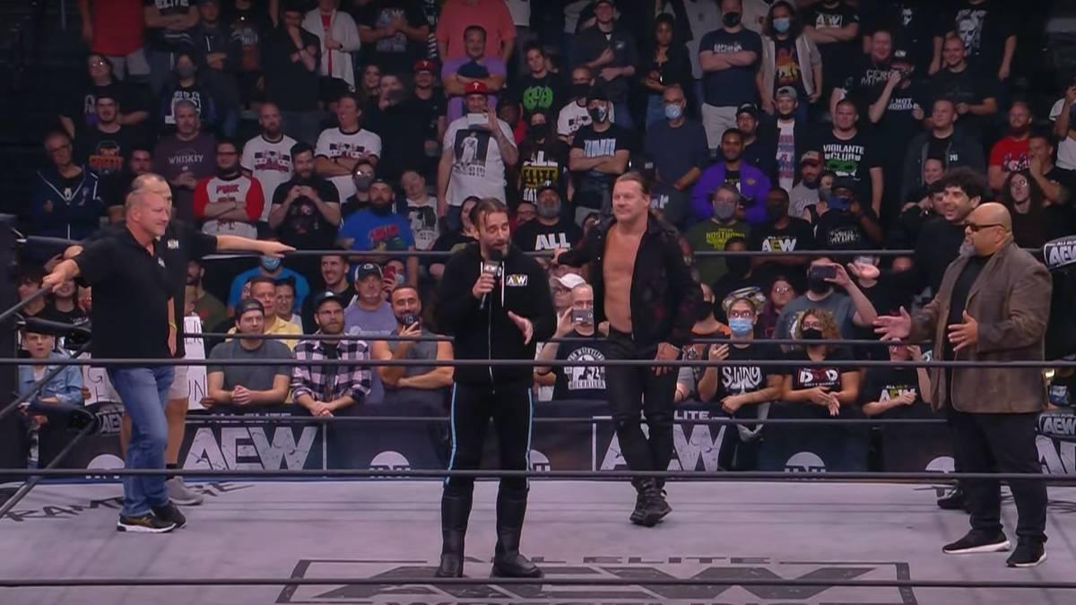 Auch CM Punk schaltete sich nach AEW Rampage in die ECW-Reunion ein