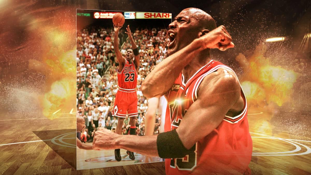 Das war Jordans legendärer letzter Tanz