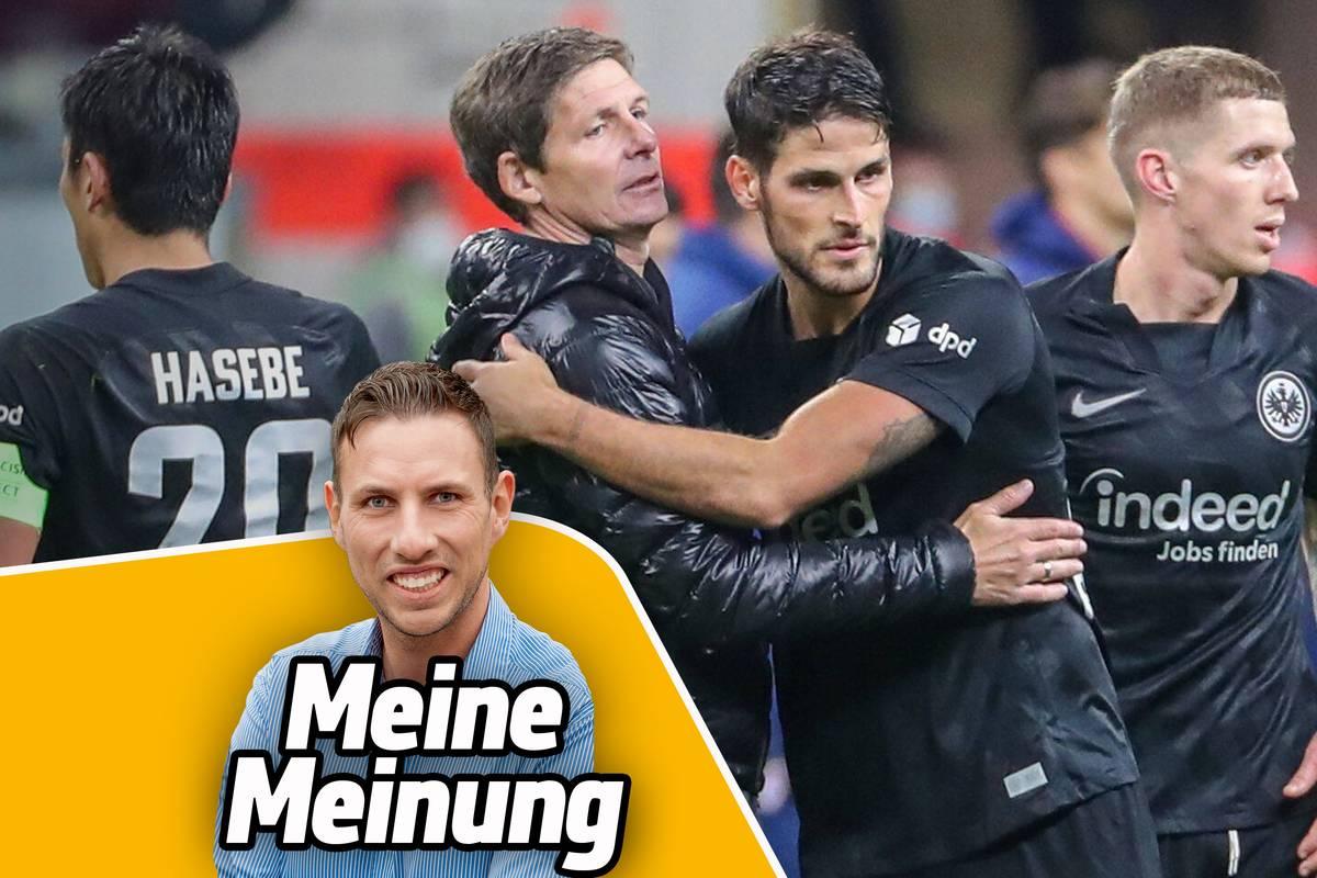 Eintracht Frankfurt hat gegen Olympiakos Piräus einen überzeugenden Europa-League-Auftritt hingelegt. An diesem Gerüst muss Trainer Oliver Glasner festhalten und einen Spieler dauerhaft einsetzen, meint SPORT1-Reporter Christopher Michel.