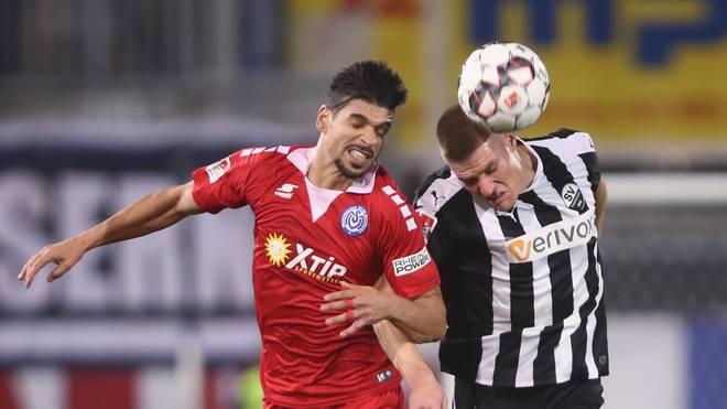 Der MSV Duisburg und der SV Sandhausen treten auf der Stelle