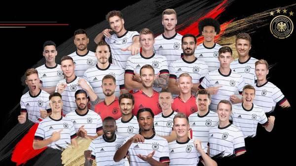 Mit diesem Aufgebot startet die deutsche Nationalmannschaft in die EM-Vorbereitung