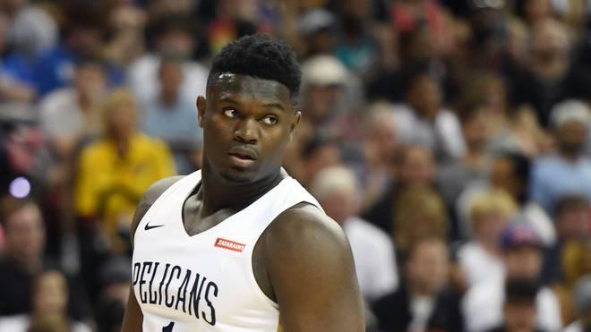 Zion Williamson machte sein erstes Spiel für die New Orleans Pelicans
