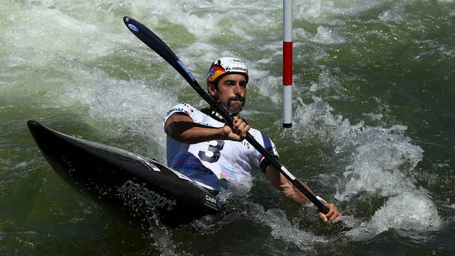 Weltmeister Hannes Aigner hat bei der Kanu-EM eine Einzelmedaille verpasst