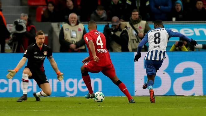 Hertha BSC schlägt Bayer Leverkusen