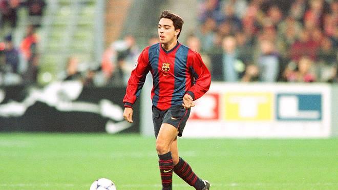 1998 begann die große Karriere von Xavi Hernández beim FC Barcelona