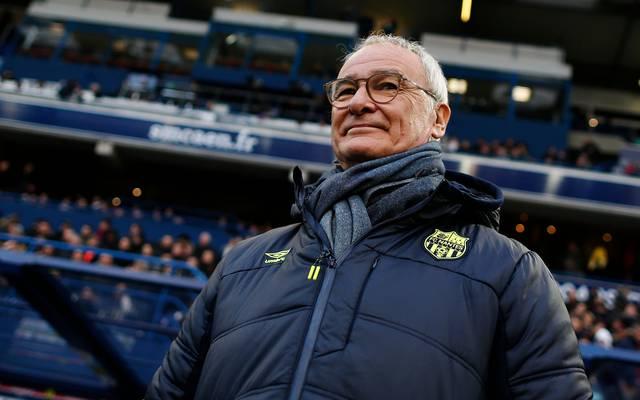 Für den Job als italienischer Nationaltrainer würde Claudio Ranieri den FC Nantes verlassen