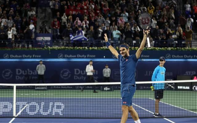 TENNIS-WTA-DUBAI-UAE Roger Federer ist nicht nur sportlich top. Auch finanziell spielt er in der ersten Riege des Sports mit