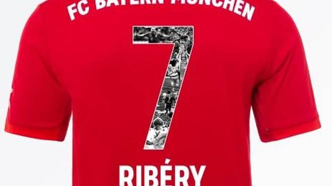 Das Spezialtrikot von Franck Ribéry