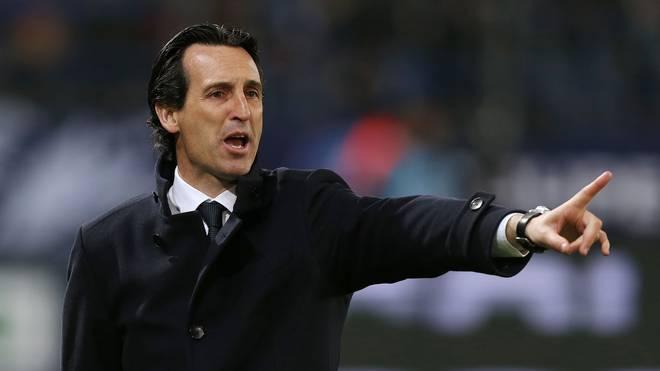 Unai Emery coacht den französischen Spitzenklub Paris St. Germain