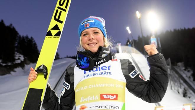 FIS Nordic World Ski Championships - Ski Jumping Competition Ladies HS109